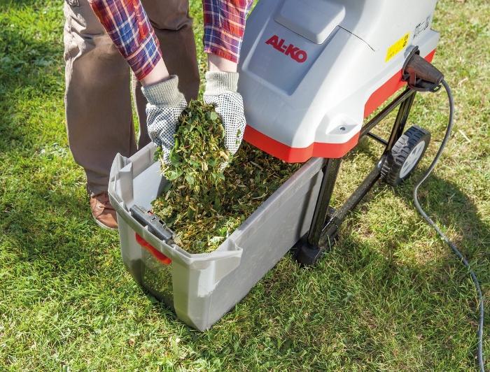 Шредер для веток и травы