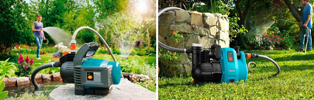 Насосы для полива огородов и садов из колодца